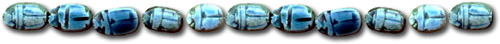 large blue scarab bar