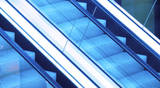 blue-escalator