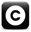 copyright black square
