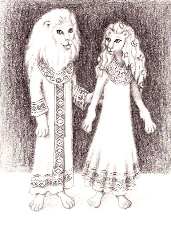 Egyptian past life Sirian Feline ETs-Denise Le Fay