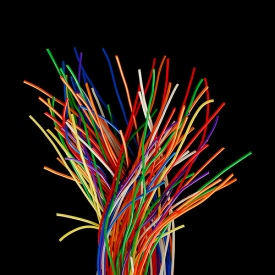 wires colored 500x