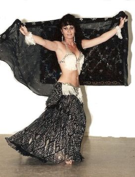 Belly Dance with veil