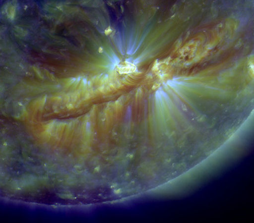 Oct. 16, 2010 solar magnetic filament