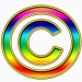 multicolored copyright