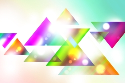 multi light triangles