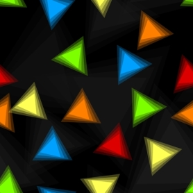 multi dark triangles
