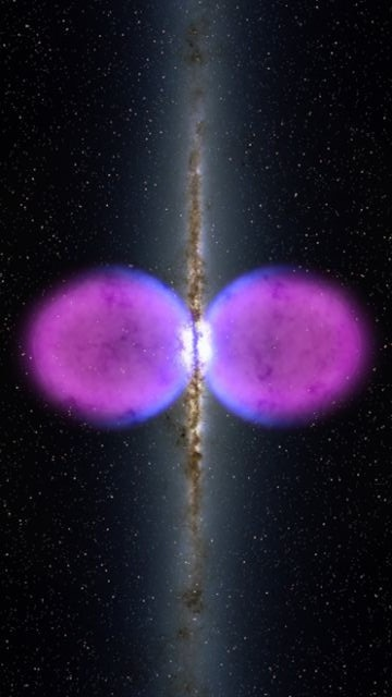 2) Fermi Bubbles November 2010