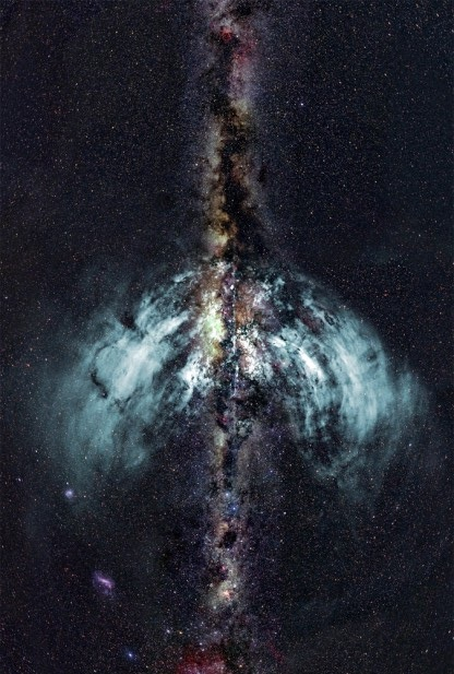 Milky Way Outflows